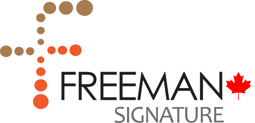 Freeman Signature Logo